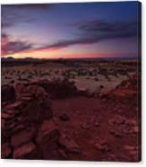 Citadel Sunset Canvas Print