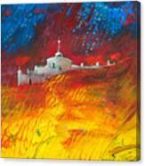 Citadelle Andalouse Canvas Print