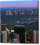 Cities Of Atlanta Canvas Print