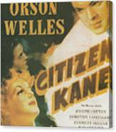 Citizen Kane - Orson Welles Canvas Print