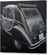 Citroen 2cv Charleston Canvas Print