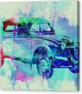 Citroen 2cv Canvas Print