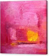 Citrus Blush Canvas Print