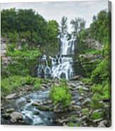 Cittenango Falls Tilt Shift Panorama  Canvas Print