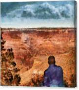 City - Arizona - Grand Canyon - The Vista Canvas Print