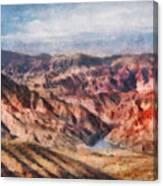 City - Arizona - Grand Hills Canvas Print