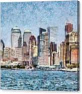 City - Ny - Manhattan Canvas Print