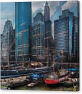 City - Ny - The New City Canvas Print