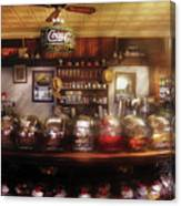 City - Ny 77 Water Street - The Candy Store Canvas Print