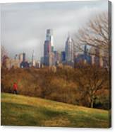 City - Philadelphia Pa  - The City Of Philadelphia  Canvas Print