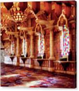 City - Vegas - Excalibur - In The Great Hall  Canvas Print