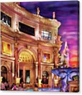 City - Vegas - Mirage - The Entrance Canvas Print