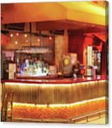 City - Vegas - Ny - The City Bar Canvas Print