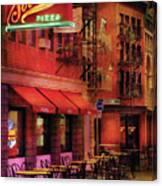 City - Vegas - The Pizza Joint Canvas Print
