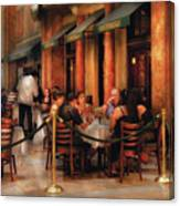 City - Venetian - Dining At The Palazzo Canvas Print