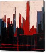 City Abstract No. 1 Canvas Print