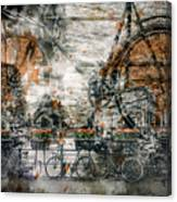 City-art Amsterdam Bicycles  Canvas Print