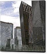 City Center At Las Vegas Canvas Print