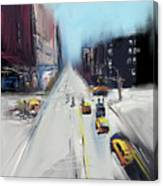 City Contrast Canvas Print