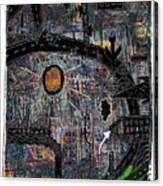 City Dragon Canvas Print