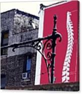 City Exoskeleton Canvas Print