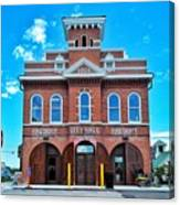 City Hall And Fire Department Canvas Print
