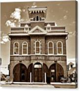 City Hall And Fire Department S Canvas Print