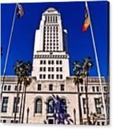 City Hall La Canvas Print