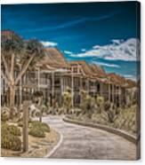 Newport Beach California City Hall Canvas Print