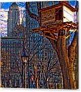 City Housing Canvas Print