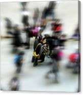 City In Movement Canvas Print