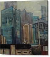 City In The Cityscape Canvas Print