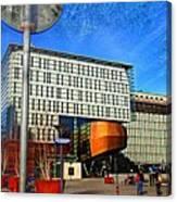 City Infradesign Artwork Canvas Print