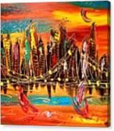 City Ny Canvas Print
