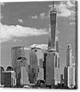 City - Ny - The Shades Of A City Canvas Print