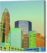 City Of Colors Canvas Print