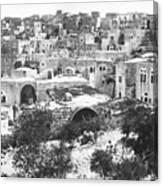 City Of David Bethlehem Canvas Print