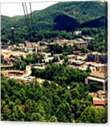 City Of Gatlinburg Canvas Print