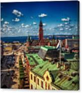 City Of Helsingborg Canvas Print