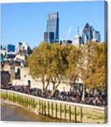 City Of London 14 Canvas Print