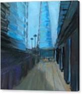 City Of London Street Canvas Print