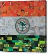 City Of Miami Flag Canvas Print