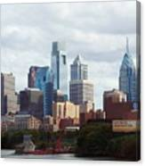 City Of Philadelphia Canvas Print