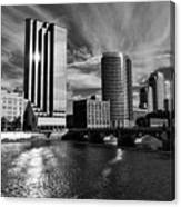 City On The Grand Canvas Print