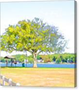 City Park 6 Canvas Print