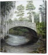 City Park Bridge Canvas Print