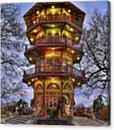 City Park Pagoda Canvas Print