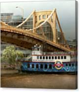City - Pittsburg Pa - Great Memories Canvas Print