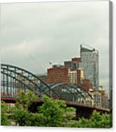 City - Pittsburgh Pa - The Grand City Of Pittsburg Canvas Print