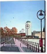 City Quay Campshires Canvas Print